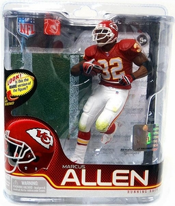 McFarlane Toys NFL Sports Picks Series 27 Action Figure Marcus Allen (Kansas City Chiefs) Red Jersey