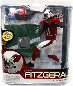 McFarlane Toys NFL Sports Picks Series 27 Action Figure Larry Fitzgerald (Arizona Cardinals) Red Jersey