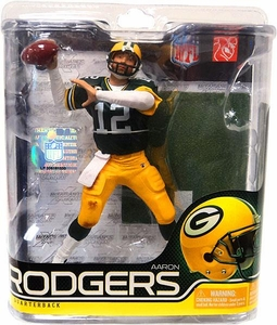 McFarlane Toys NFL Sports Picks Series 27 Action Figure Aaron Rodgers (Green Packers)