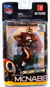McFarlane Toys NFL Sports Picks Series 23 Action Figure Donovan McNabb (Washington Redskins) Burgundy Pants Silver Collector Level Chase Only 1,000 Made!