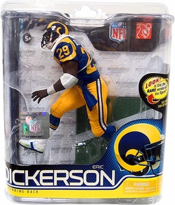 McFarlane Toys NFL Sports Picks Series 27 Action Figure Eric Dickerson (Los Angeles Rams) Blue Jersey