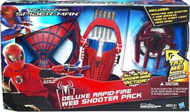 Amazing Spider-Man Movie Deluxe Rapid Fire Web Shooter Pack