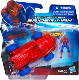 Amazing Spider-Man Movie EC Racer Vehicle with Spider-Man Mini Figure