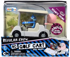 Regular Show Exclusive R/C Remote Control Golf Cart with Sound