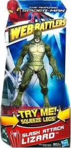 Amazing Spider-Man Movie Web Battlers Action Figure Slash Attack Lizard