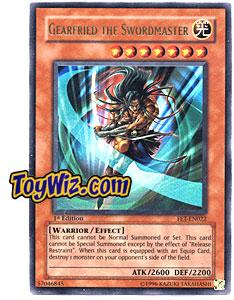 YuGiOh Flaming Eternity Single Card Ultra Rare FET-EN022 Gearfried the Swordmaster