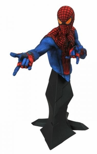 Amazing Spider-Man Movie Gentle Giant 9 Inch Statue Bust Spider-Man