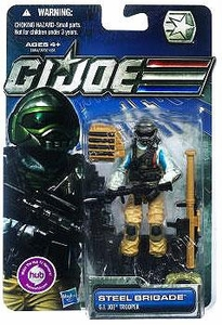 GI Joe 30th Anniversary 3 3/4 Inch Action Figure Steel Brigade [GI Joe Trooper]