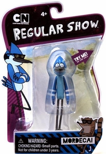 Regular Show 4 Inch Action Figure Mordecai