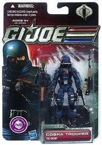 GI Joe 30th Anniversary 3 3/4 Inch Action Figure Cobra Trooper [The Enemy]