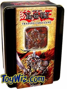YuGiOh 2005 Tin Set Gilford the Lightning