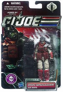 GI Joe 30th Anniversary 3 3/4 Inch Action Figure Iron Grenadier [Elite Trooper]