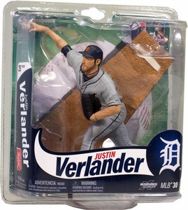 McFarlane Toys MLB Sports Picks Series 30 Action Figure Justin Verlander (Detroit Tigers)