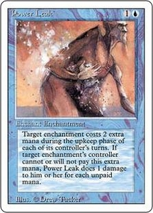 Magic the Gathering Revised Edition Single Card Common Power Leak
