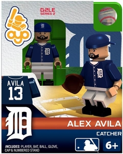OYO Baseball MLB Generation 2 Building Brick Minifigure Alex Avila [Detroit Tigers]