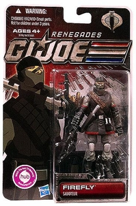 GI Joe 30th Anniversary 3 3/4 Inch Renegades Action Figure FireFly [Saboteur]