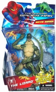 Amazing Spider-Man Movie Series Exclusive 6 Inch Action Figure The Lizard [With Reptile Sidekicks]