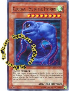 YuGiOh GX Gladiator's Assault Single Card Super Rare GLAS-EN005 Cloudian - Eye of the Typhoon