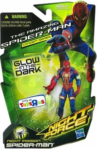 Marvel The Amazing Spider-Man Concept Series Exclusive 3.75 Inch Action Figure Night Mission Spider-Man [Glow in the Dark]
