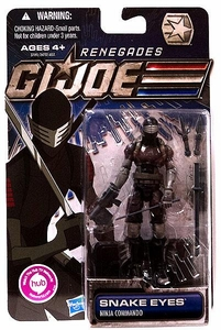 GI Joe 30th Anniversary 3 3/4 Inch Renegades Action Figure Snake Eyes [Ninja Commando]