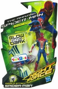 Marvel The Amazing Spider-Man Concept Series Exclusive 3.75 Inch Action Figure Missle Attack Spider-Man [Glow in the Dark] BLOWOUT SALE!