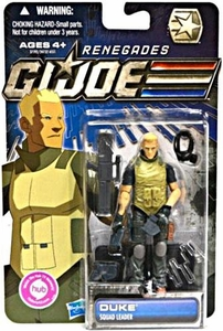 GI Joe 30th Anniversary 3 3/4 Inch Renegades Action Figure Duke [Squad Leader]