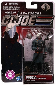 GI Joe 30th Anniversary 3 3/4 Inch Renegades Action Figure Cobra Commander [Cobra Leader]