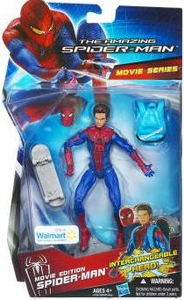 Amazing Spider-Man Movie Exclusive 6 Inch Action Figure Spider-Man [Interchangeable Head]