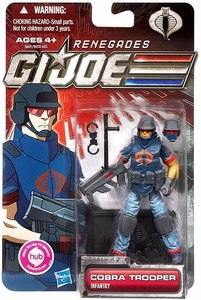 GI Joe 30th Anniversary 3 3/4 Inch Renegades Action Figure Cobra Trooper [Infantry]