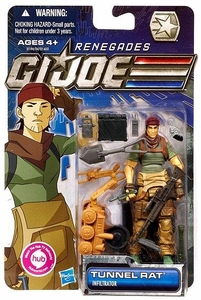 GI Joe 30th Anniversary 3 3/4 Inch Renegades Action Figure Tunnel Rat [Infiltrator]