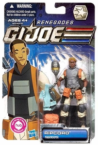 GI Joe 30th Anniversary 3 3/4 Inch Renegades Action Figure Ripcord [Paratrooper]