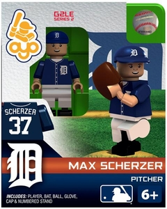 OYO Baseball MLB Generation 2 Building Brick Minifigure Max Scherzer [Detroit Tigers]