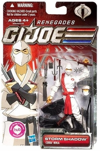 GI Joe 30th Anniversary 3 3/4 Inch Renegades Action Figure Storm Shadow [Cobra Ninja]