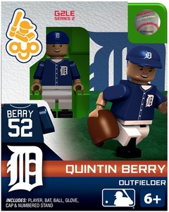 OYO Baseball MLB Generation 2 Building Brick Minifigure Quintin Berry [Detroit Tigers]
