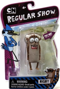 Regular Show 4 Inch Action Figure Rigby