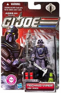 GI Joe 30th Anniversary 3 3/4 Inch Action Figure Techno Viper [Cobra Engineer]