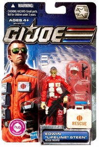 GI Joe 30th Anniversary 3 3/4 Inch Action Figure Edwin