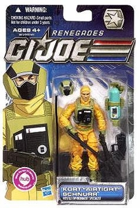 GI Joe 30th Anniversary 3 3/4 Inch Renegades Action Figure Kurt