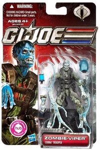 GI Joe 30th Anniversary 3 3/4 Inch Action Figure Zombie Viper [Cobra Trooper]