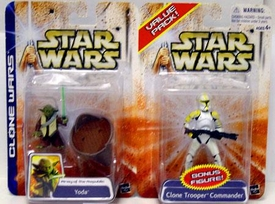 Star Wars Clone Wars Army of the Republic Yoda & Clone Trooper 2-Pack