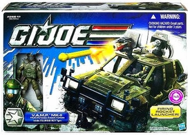 GI Joe 30th Anniversary 3 3/4 Inch Bravo Vehicle VAMP MK-II with Steel Brigade Delta Action Figure