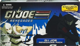 GI Joe Renegades 3.75 Inch Exclusive 4-Pack Conrad Duke Hauser, Snake Eyes, Storm Shadow & Cobra Ninja Viper