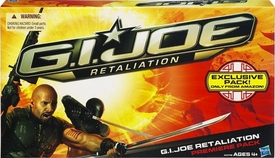 GI Joe Retaliation Movie 3.75 Inch Exclusive 4-Pack Roadblock, Snake Eyes, Storm Shadow & Cobra Commander