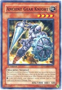 YuGiOh GX Gladiator's Assault Single Card Common GLAS-EN029 Ancient Gear Knight
