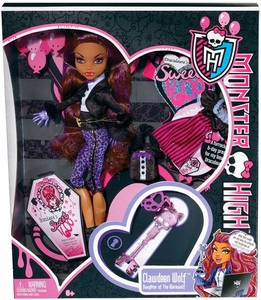 Monster High Sweet 1600 Deluxe Doll Clawdeen Wolf