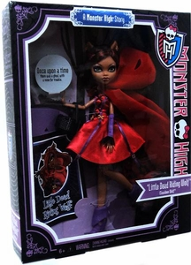 Monster High Scary Tales Story Exclusive Deluxe Little Dead Riding Wolf Clawdeen Wolf