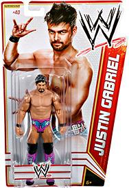 Mattel WWE Wrestling Basic Series 19 Action Figure #40 Justin Gabriel BLOWOUT SALE!