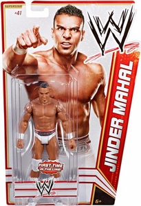 Mattel WWE Wrestling Basic Series 19 Action Figure #41 Jinder Mahal