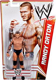 Mattel WWE Wrestling Basic Series 19 Action Figure #42 Randy Orton