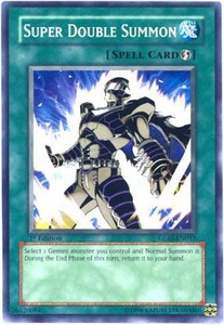 YuGiOh GX Gladiator's Assault Single Card Common GLAS-EN053 Super Double Summon